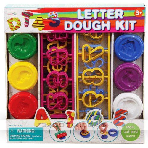 خمیربازی حروف و اعداد