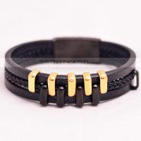 سفارش آنلاین دستبند چرم پسرانه