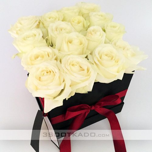 خرید جعبه گل رز هلندی