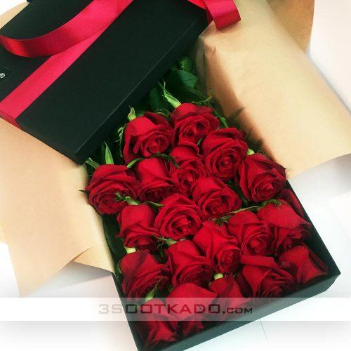 خرید آنلاین جعبه گل