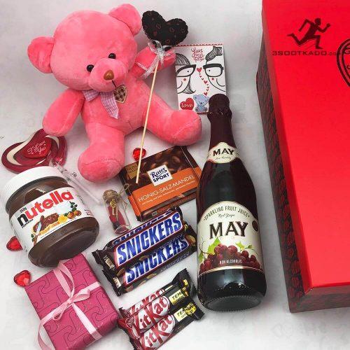 خرید پکیج مخصوص ولنتاین به همراه کلیه تزئینات
