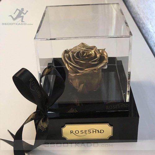 خرید جعبه گل رز جاودان