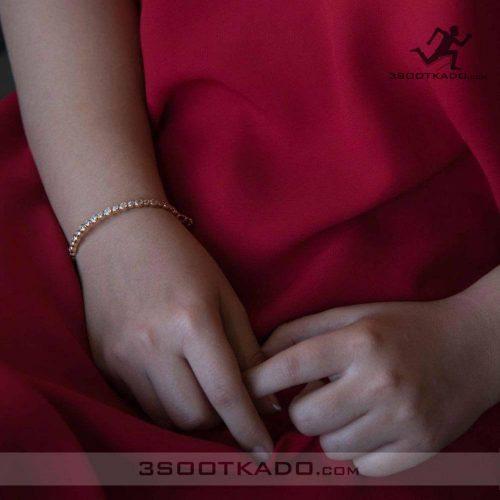 دستبند النگویی سواروسکی