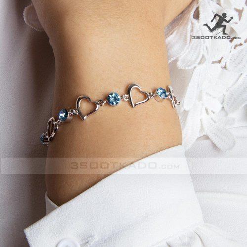 دستبند با سنگ سواروسکی طرح سی بل
