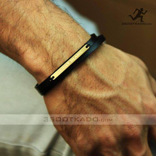 خرید دستبند طلا مردانه برند مون بلن