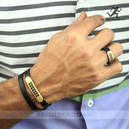 خرید دستبند و انگشتر چرم و طلا