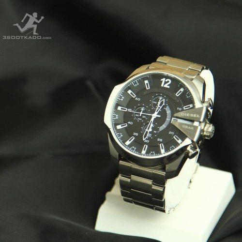 خرید ساعت مچی مردانه دیزل نقره ای