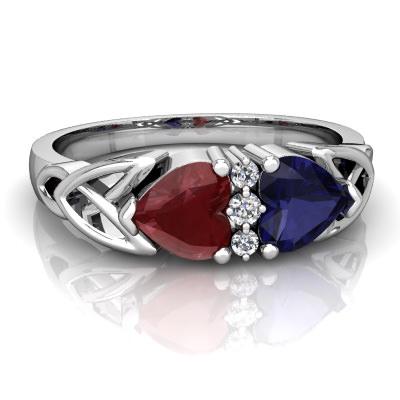 گرانترین یا زیباترین سنگ قرمز یاقوتی سواروسکی