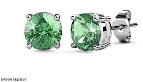 زیباترین لعل سبز گارنت سنگ ماه تولد سواروسکی کادو ولنتاین