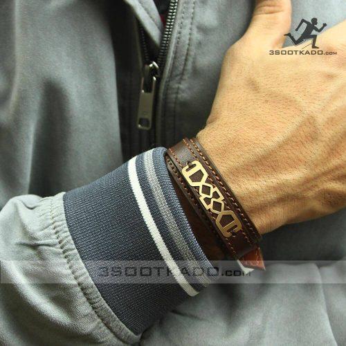 خرید دستبند طلا مردانه کادو ولنتاین