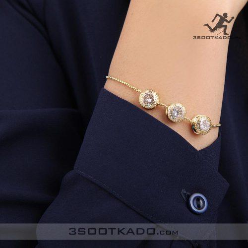 خرید دستبند اصل سواروسکی